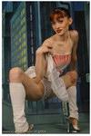 nude girl doing ballet