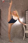 nude dancing ballerina