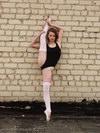 nude ballerina exercises